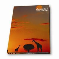 A5 hard cover note pad